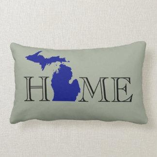 I Herz Michigan Lendenkissen