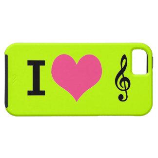 I Herz-Musik iPhone 5 Fall Etui Fürs iPhone 5