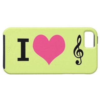 I Herz-Musik iPhone 5 Fall iPhone 5 Etui