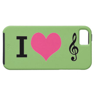 I Herz-Musik iPhone 5 Fall iPhone 5 Hüllen