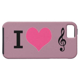 I Herz-Musik iPhone 5 Fall iPhone 5 Schutzhülle