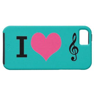 I Herz-Musik iPhone 5 Fall iPhone 5 Schutzhüllen