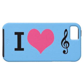 I Herz-Musik iPhone 5 Fall Schutzhülle Fürs iPhone 5