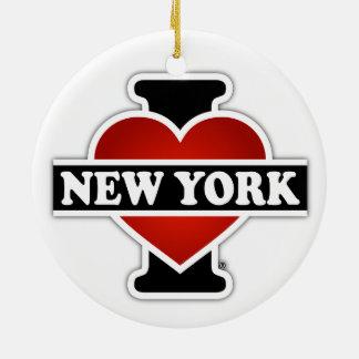 I Herz New York Keramik Ornament