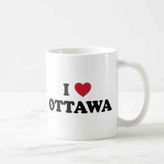 I Herz Ottawa Kanada Kaffeetasse