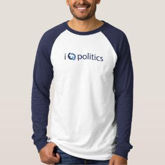 I Herz-Politik (möglicherweise zu viel) T-Shirt