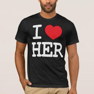 I Herz sie T-Shirt