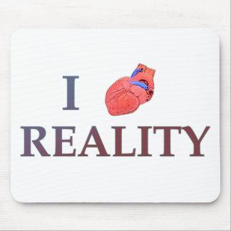 I Herz-Wirklichkeit Mousepads