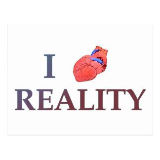 I Herz-Wirklichkeit Postkarte