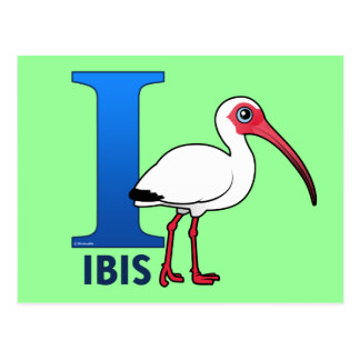 I ist für IBIS Postkarte