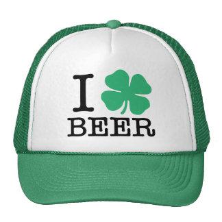 I Kleeblatt-Bier Kultmütze