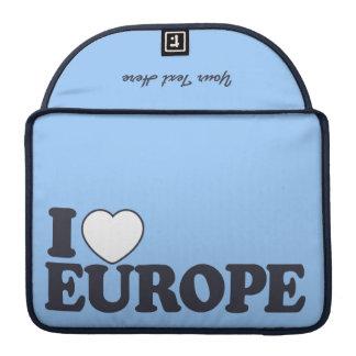 I kundenspezifische MacBook Hülse LIEBE-EUROPAS Sleeve Für MacBooks