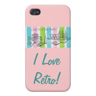 I laden Liebe-Retro/jugendlich ein iPhone 4 Schutzhülle