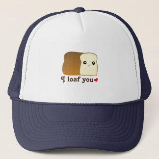 I Laib Sie Kawaii Brot-lustiges Truckerkappe