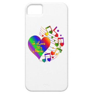 I Liebe-70er Musik iPhone 5 Hüllen