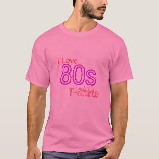 I Liebe-80er T - Shirts