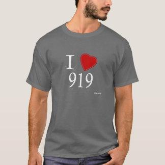 I Liebe 919 Raleigh T-Shirt