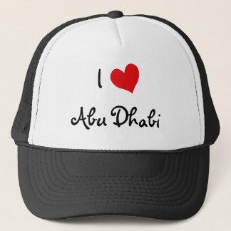 I Liebe Abu Dhabi Truckerkappe