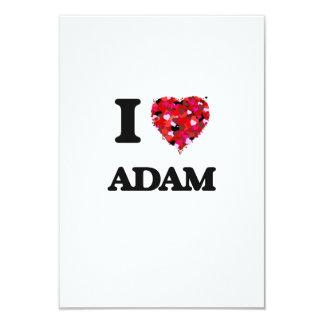 I Liebe Adam 8,9 X 12,7 Cm Einladungskarte