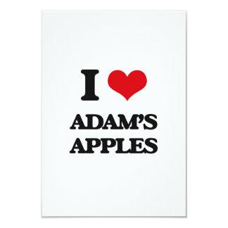 I Liebe-Adams Äpfel 8,9 X 12,7 Cm Einladungskarte