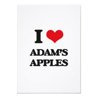 I Liebe-Adams Äpfel 12,7 X 17,8 Cm Einladungskarte