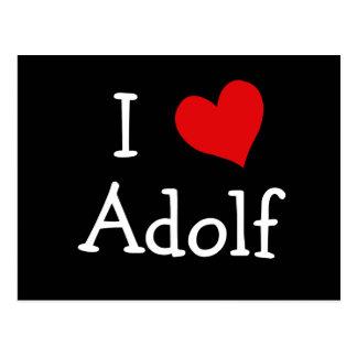 I Liebe Adolf Postkarte