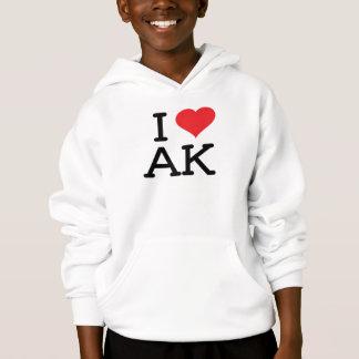 I Liebe AK - Herz - Hoodie