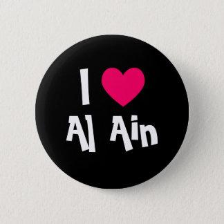 I Liebe Al-Ain Runder Button 5,7 Cm