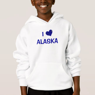 I Liebe Alaska Hoodie