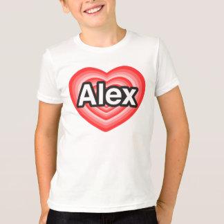 I Liebe Alex. Liebe I Sie Alex. Herz T-Shirt