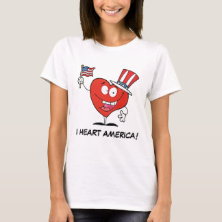 I Liebe Amerika T-Shirt