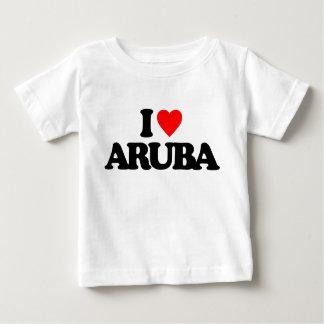 I LIEBE ARUBA BABY T-SHIRT