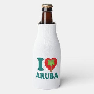 I Liebe-Aruba-Palme Flaschenkühler