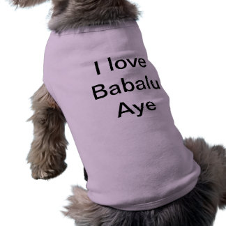 I Liebe Babalu ja T-Shirt