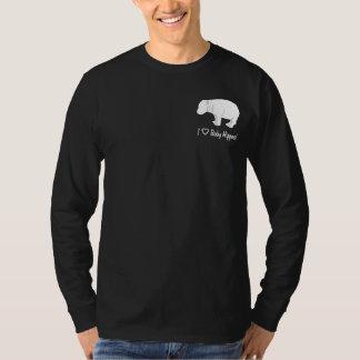 I Liebe-Baby-Flusspferde T-Shirt