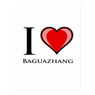 I Liebe Baguazhang Postkarte