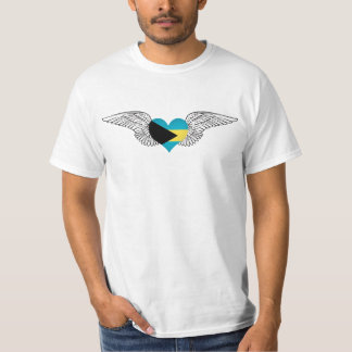 I Liebe Bahamas - Flügel T-Shirt