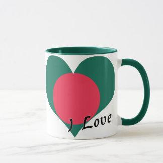 I Liebe Bangladesch Tasse
