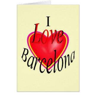 I Liebe Barcelona! Karte