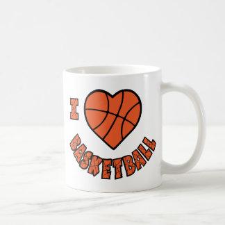 I Liebe-Basketball Kaffeetasse