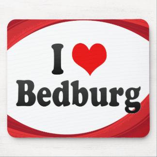 I Liebe Bedburg, Deutschland Mauspads
