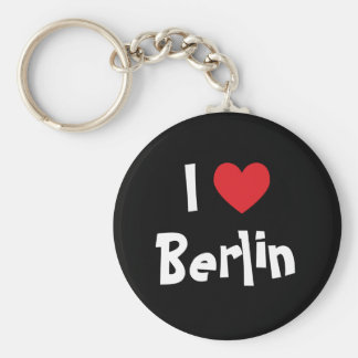 I Liebe Berlin Standard Runder Schlüsselanhänger