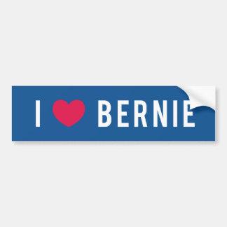 I Liebe Bernie Autoaufkleber