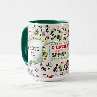 I Liebe besprühen Sie mehr als (mit 2 Fotos) Tasse