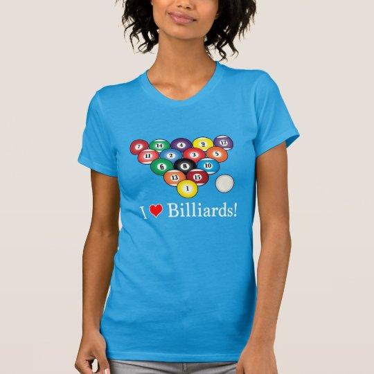 I Liebe-Billard! T-Shirt