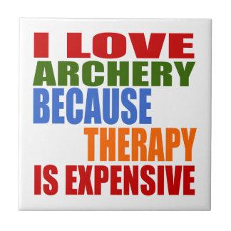 I Liebe-Bogenschießen, weil Therapie teuer ist Keramikfliese
