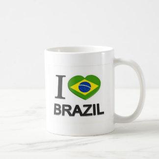 I Liebe-Brasilien-Material Kaffeetasse