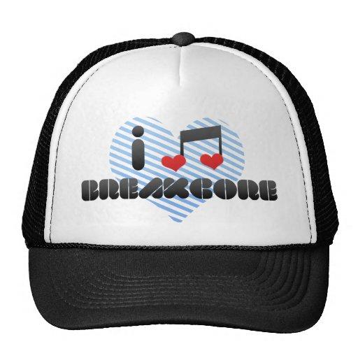 I Liebe Breakcore Retromützen