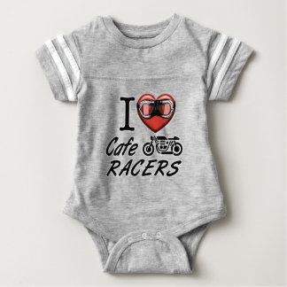 I Liebe-CaféRacers Baby Strampler