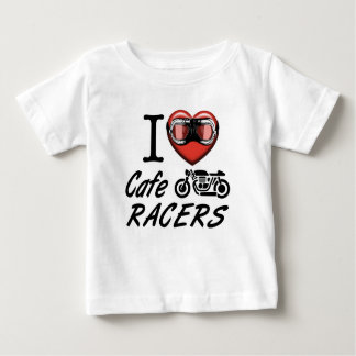 I Liebe-CaféRacers Baby T-shirt